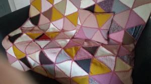 TJ deken en kussen 07 pastel kleuren